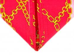 Платок на голову красного цвета